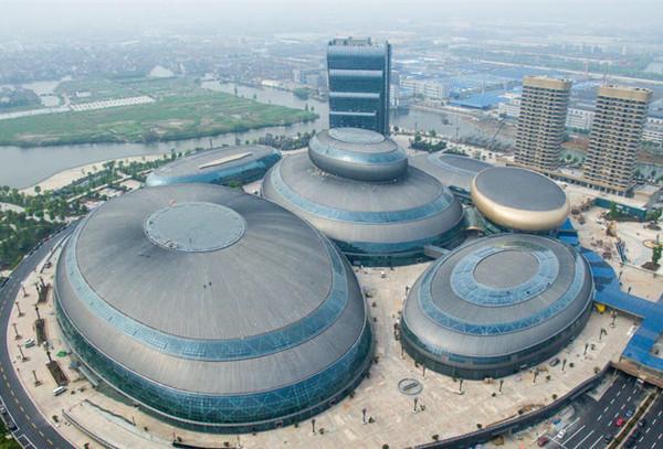 浙江绍兴金沙·东方山水乐园建筑群