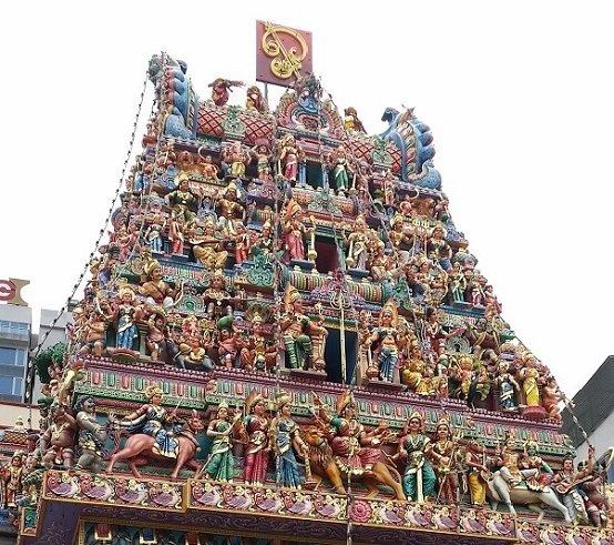 小印度的印度神庙