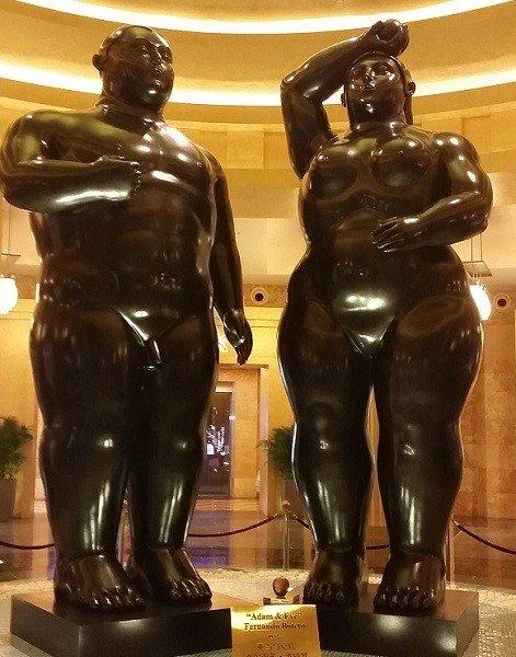 胖胖的亚当夏娃(迈克尔酒店)