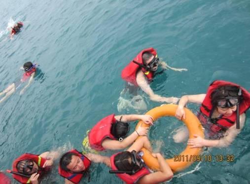 浮潜进行时 (小PP岛)
