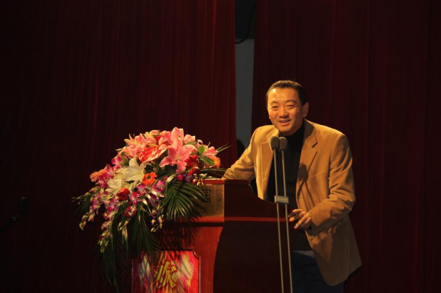 《生态城市与绿色建筑》出品人、清华大学吴刚老师致辞